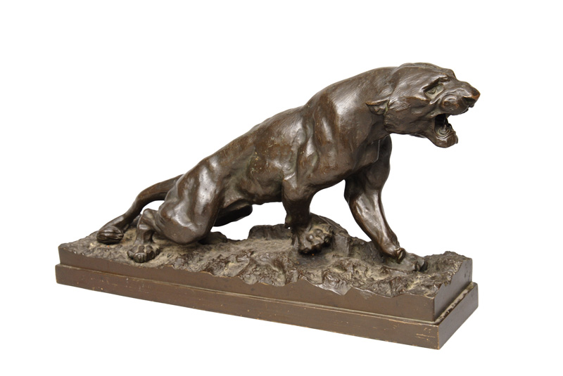 "A bronze figure ""Panther"""