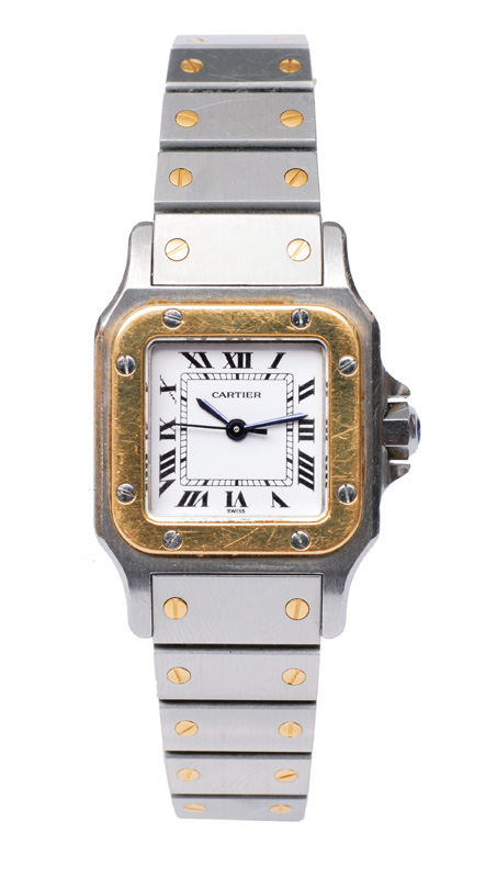 "A ladies watch ""Santos"" by Cartier"