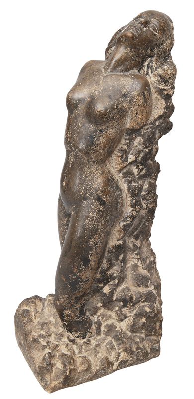 "A modern stone sculpture ""Female nude"""