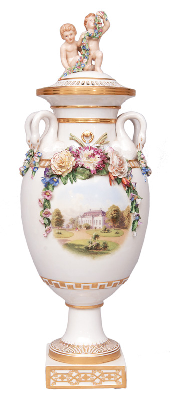 A wedding vase related to the Danish monarchy