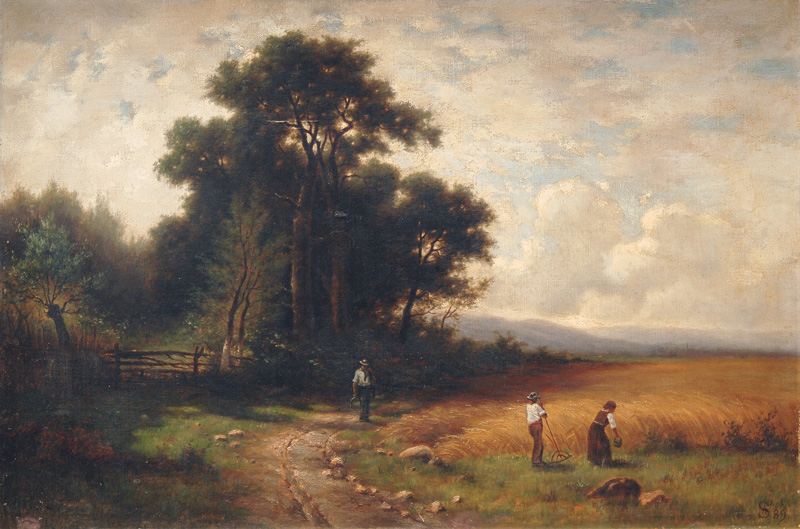 Landscape with Harversters