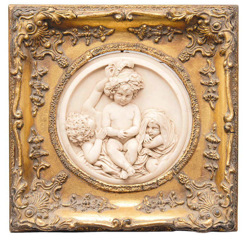 "A relief ""Children playing"""