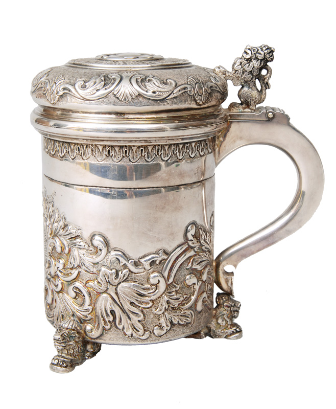 A tankard in Baroque style