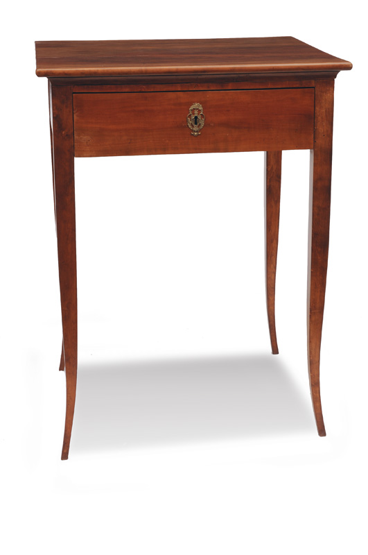 A small table in the style of Biedermeier