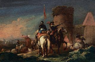 Cuirassiers in Departure