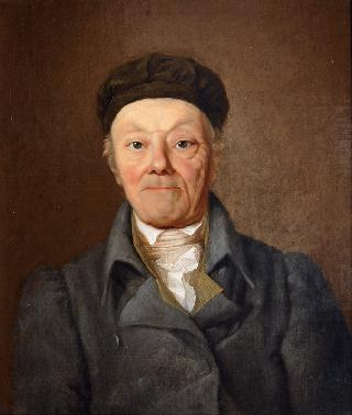 Portrait of Ernst Friedrich Wilhelm Simon