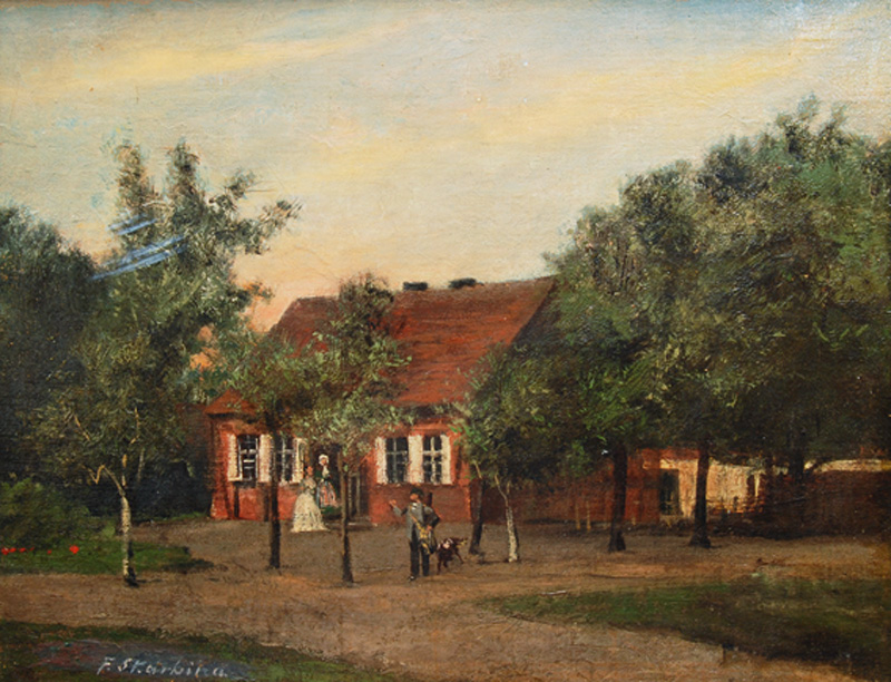 Forester's House in the Mark Brandenburg