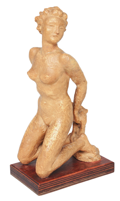 "An expressiv figure ""Female nude"""