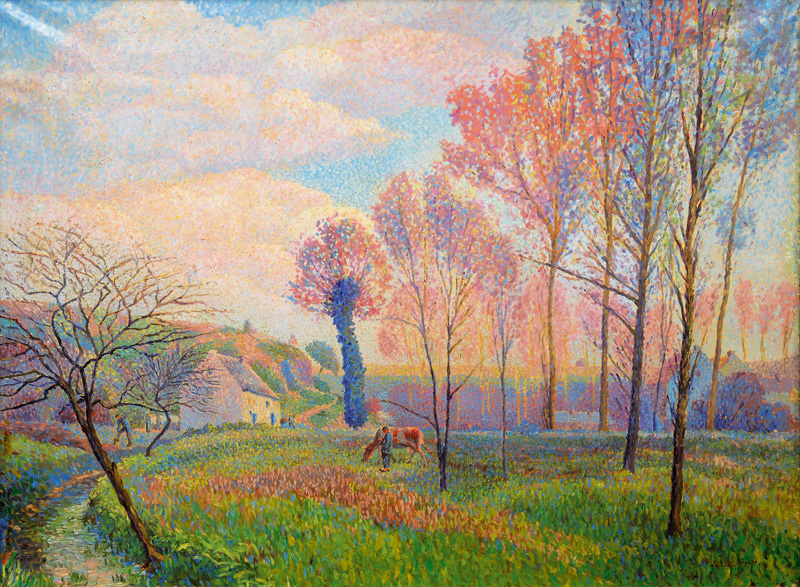 French Landscape in Spring