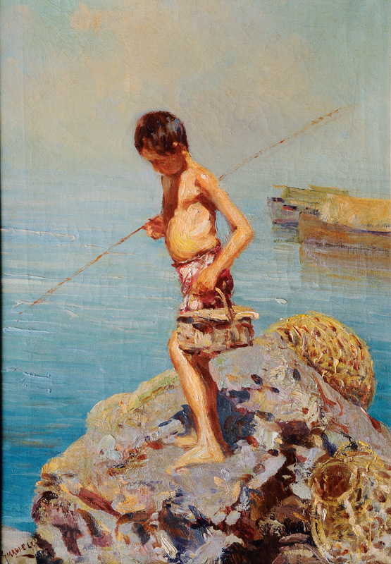 The little Angler