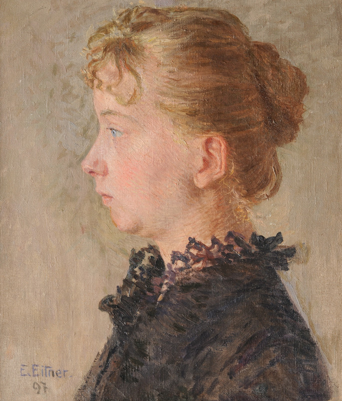 Antonia Eitner, the Artist's Wife
