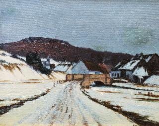 Eifel Landscape in Winter