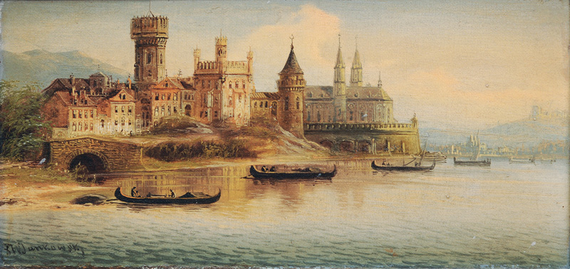 Companion Pieces: Romantic Castles by the Water