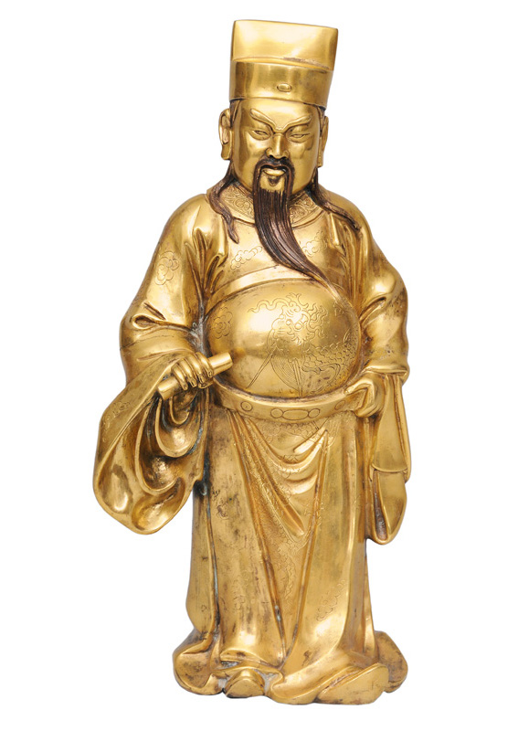 "A bronze figurine of the star deity ""Fu"""