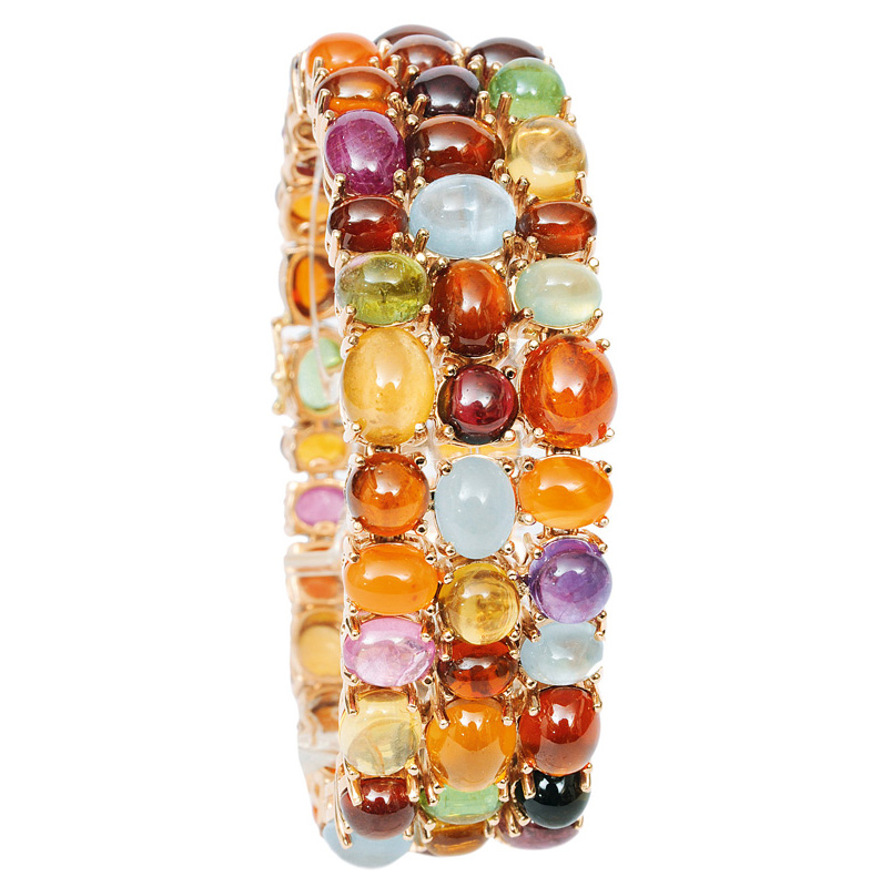 An extraordinary colourful bracelet