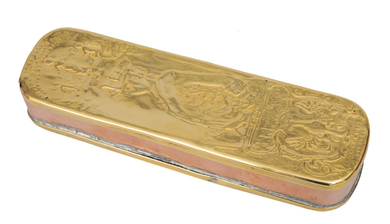 "A tobacco tin from Iserlohn ""Fredericus Magnus"""