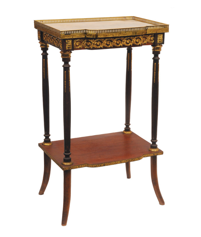 A small table in the style of Napoleon III