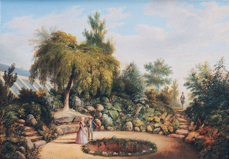 Garden of Senator Böckmann in Harvestehude