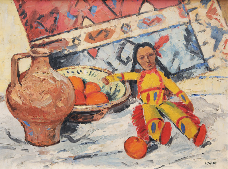 Still Life with Indian Doll