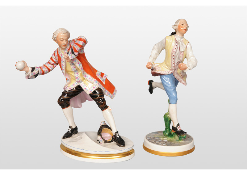 Two Rococo-figurines