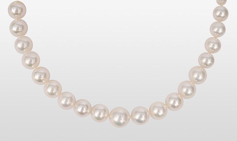 A Southsea pearl necklace
