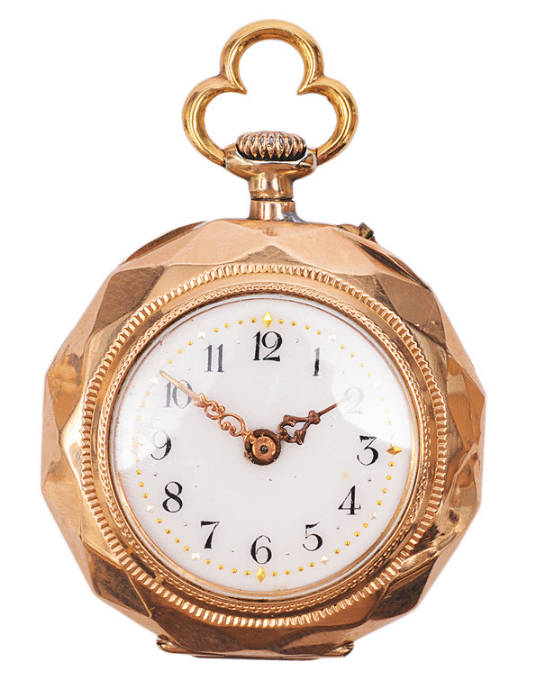 A ladies pocket watch