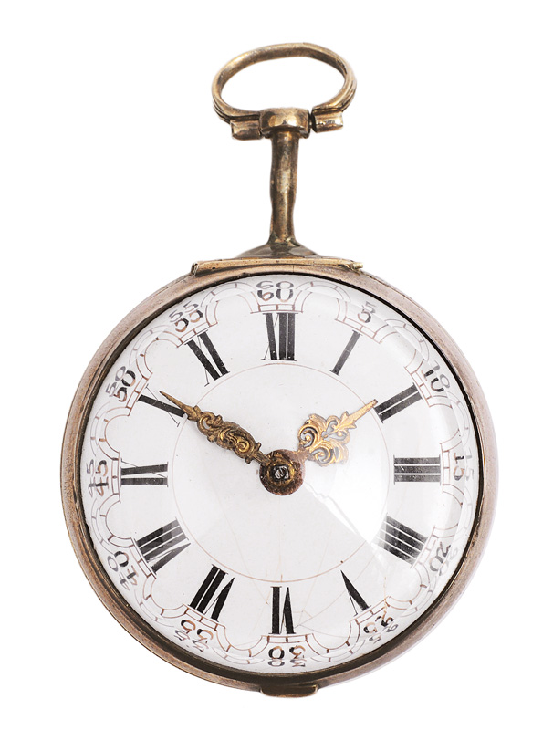 An english spindle pocket watch