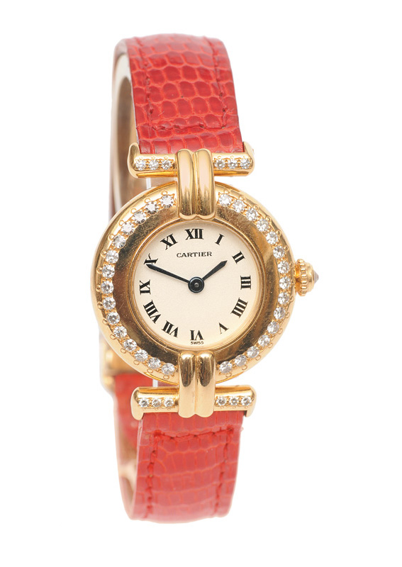 "A ladies wrist watch ""Rivoli"" with diamonds"