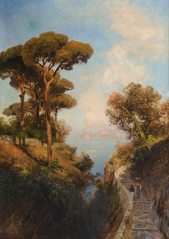 View on Capri