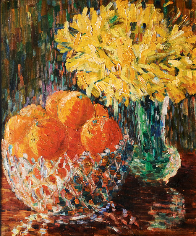 Oranges and Daffodils