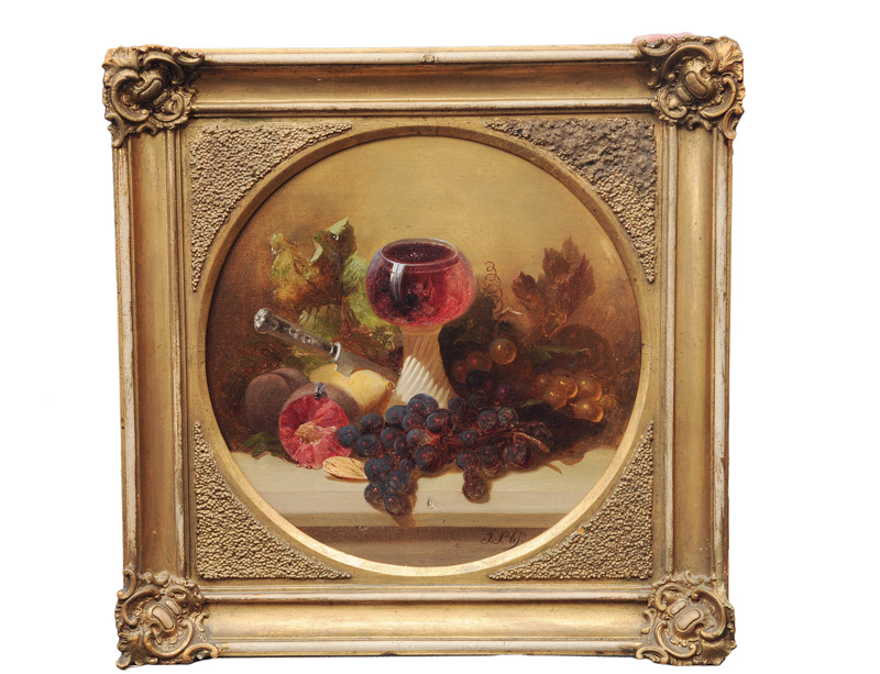 Still Life with Rummer and Fruits