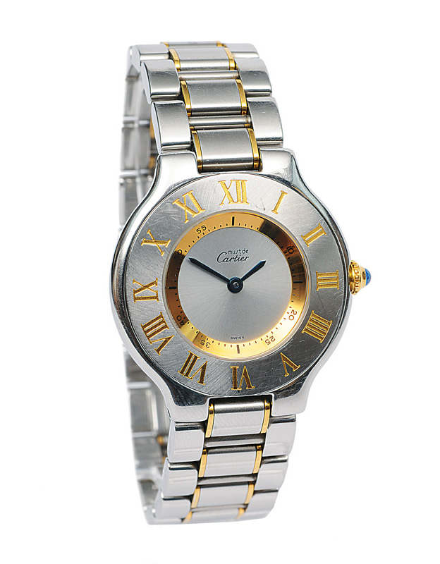 "A ladies wrist watch ""Must de 21"""