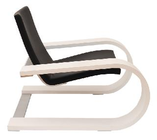 "A cantilever chair ""Swinging for life"""