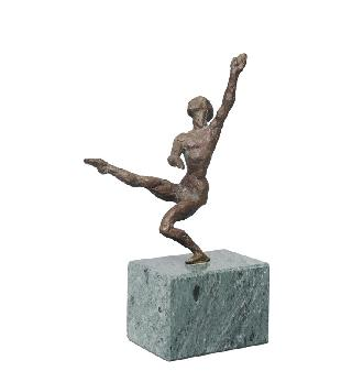 "A bronze figure ""Ballet dancer"""