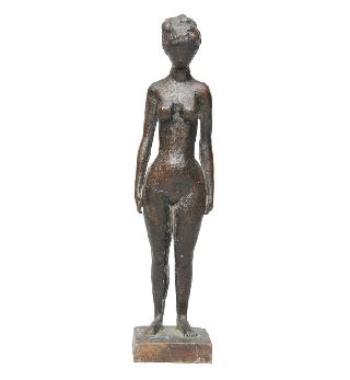 "A bronze figure ""Small nude"""