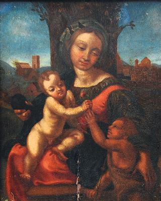 Mary with Child and the Infant St. John