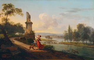 Southern Landscape with a Family