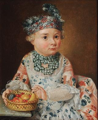 Portrait of a Boy with a Fruit Basket