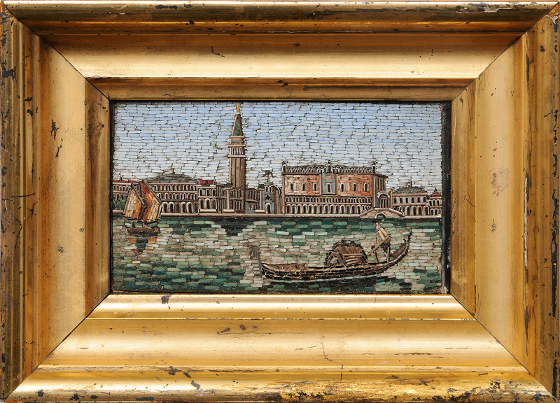 "A micro mosaic ""St. Marks Square in Venice"""
