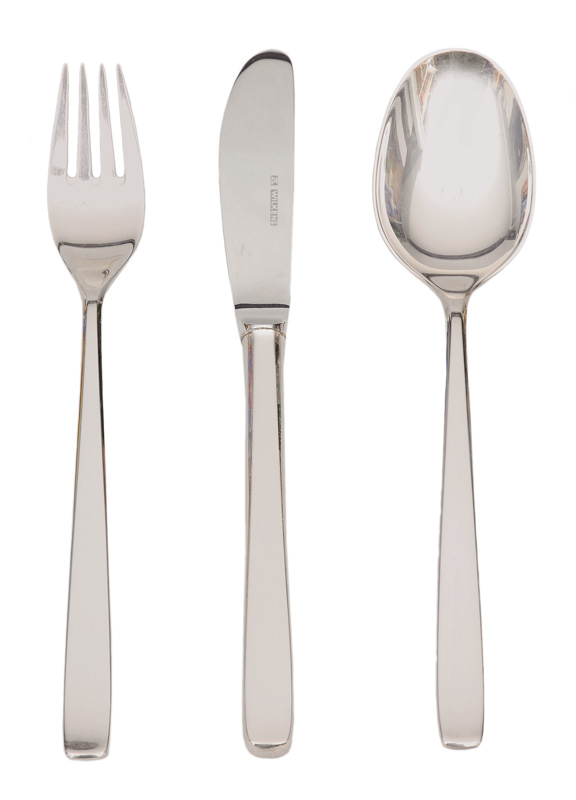 "A modern cutlery ""Classic"" for 12 persons"