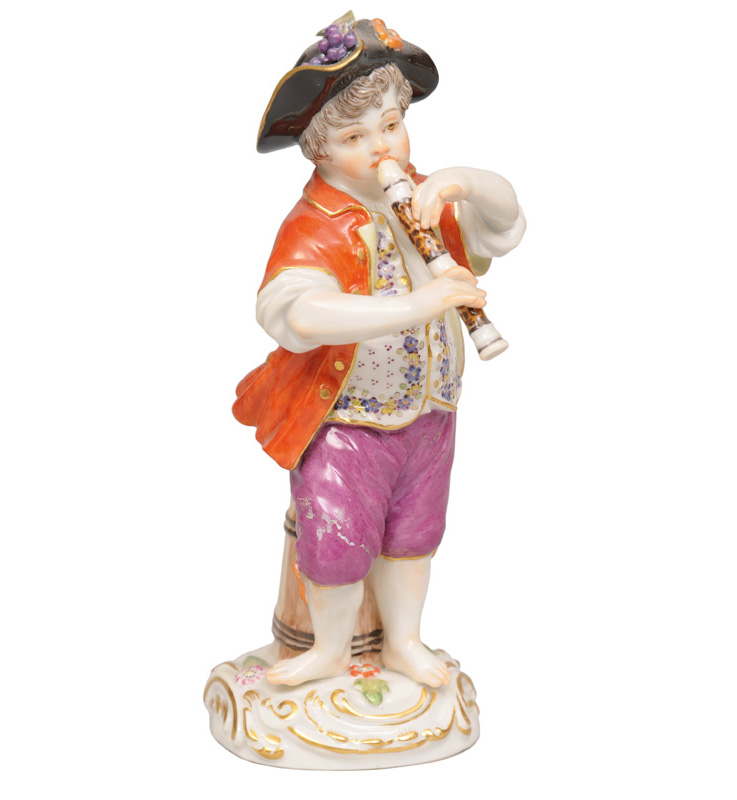 "A figure ""Boy with flute"""