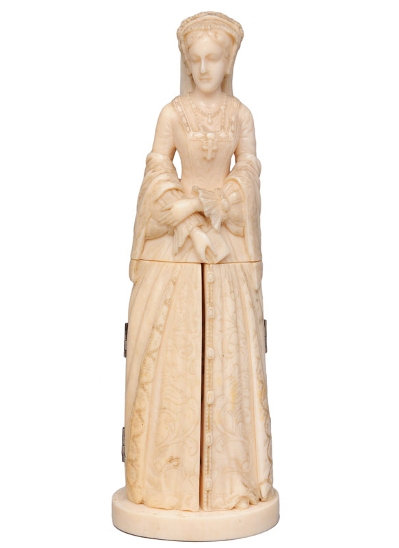 "An ivory figure ""Court lady"""