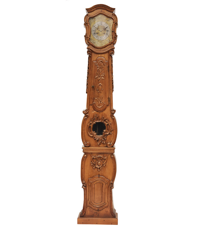 A Rokoko long case clock of the Probstei