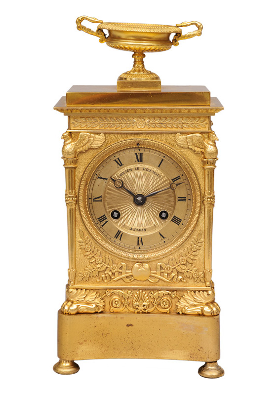 A french Empire mantle clock