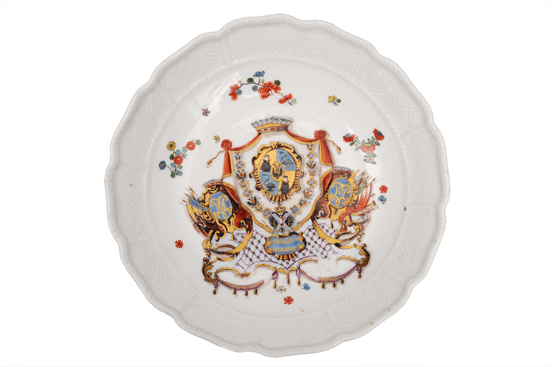 "An armorial bowl from the famous ""von Münnich-Service"""