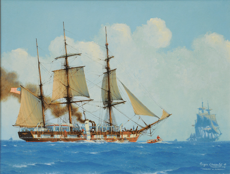 The American Whaler Charles W. Morgan