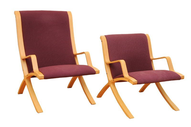 "Two armchairs of the serial ""AX"""