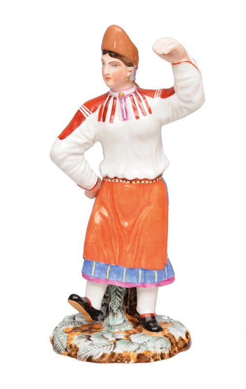 "A figure ""Dancing peasant"""