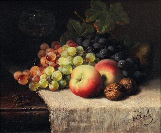 Fruit Still Life with Wasp