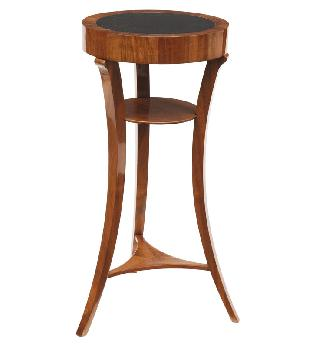 A side table in the style of Biedermeier